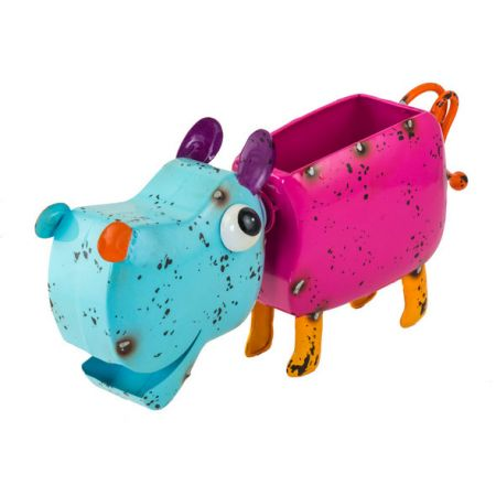 Fountasia Colourful Planters - Hannah The Hippo