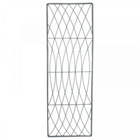 Rot-Proof Faux Willow Trellis Rectangular 1.8M X 0.6M - Slate