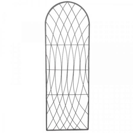 Rot-Proof Faux Willow Trellis Rounded 1.8M X 0.6Cm - Slate